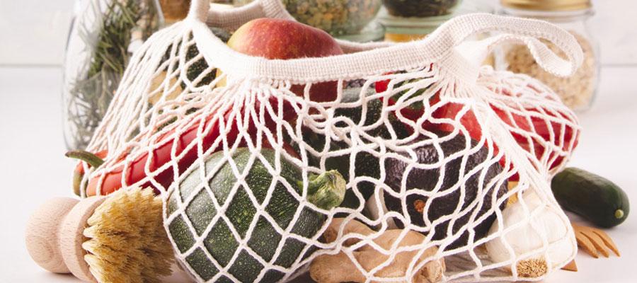 Trouver des sacs réutilisables