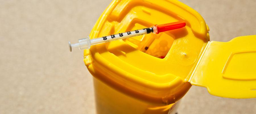 Contenant pour déchets médicaux